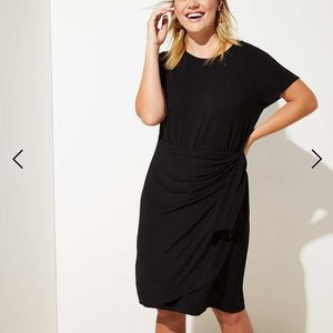 Loft Plus Faux Wrap T-Shirt Dress - 18w NWT